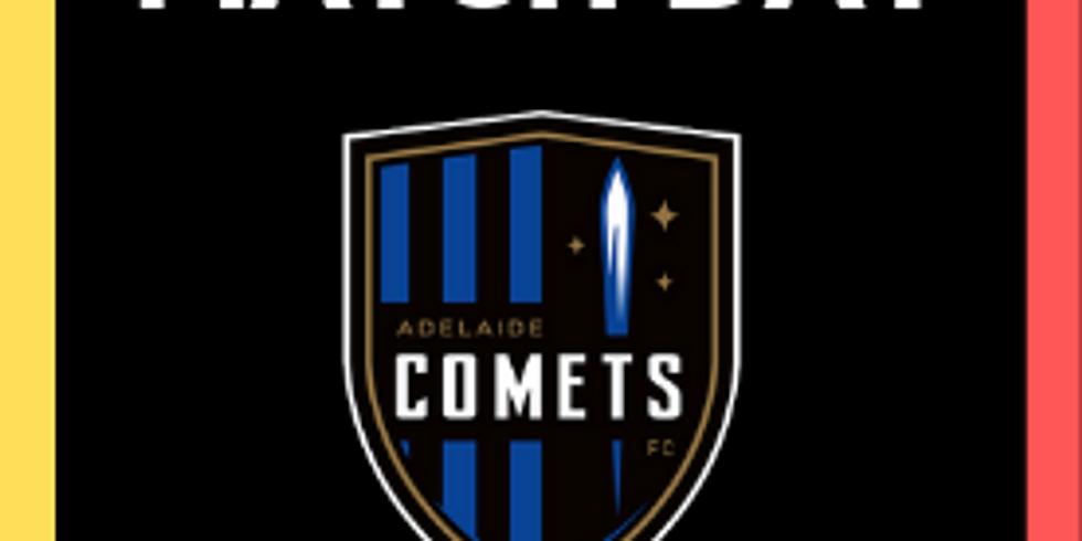 MetroStars vs. Adelaide Comets