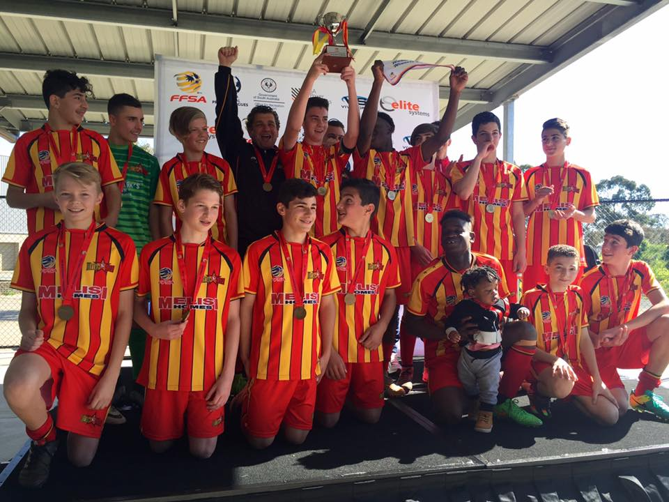2016 U14 Junior Cup Winners