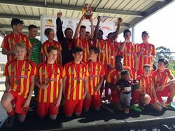 2016 U14 Junior Cup Winners