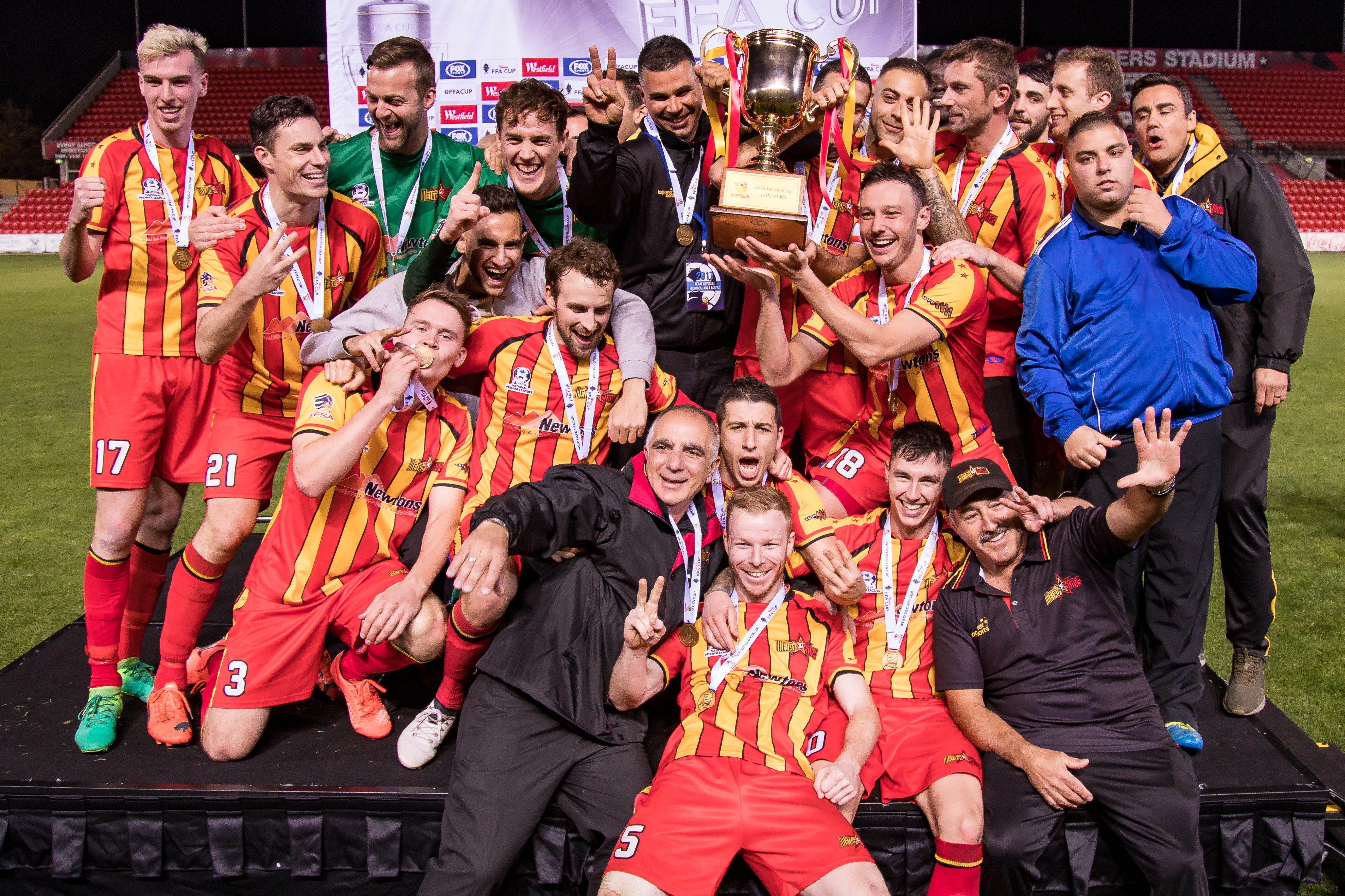 2017 Federation Cup Champions