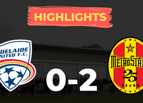 HIGHLIGHTS: Adelaide United 0-2 MetroStars