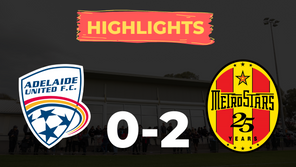 HIGHLIGHTS: Adelaide United 0-2 MetroStars