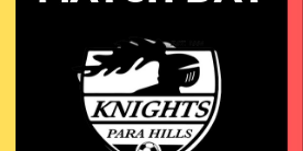 MetroStars vs. Para Hills Knights