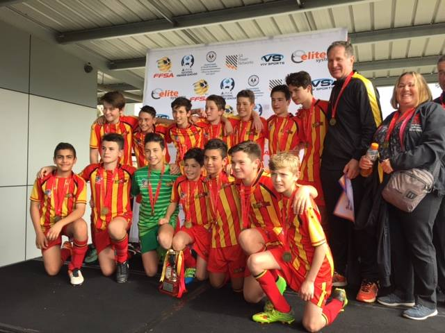 2016 U13 Junior Cup Winners