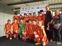 2016 U13 Junior Cup Winners