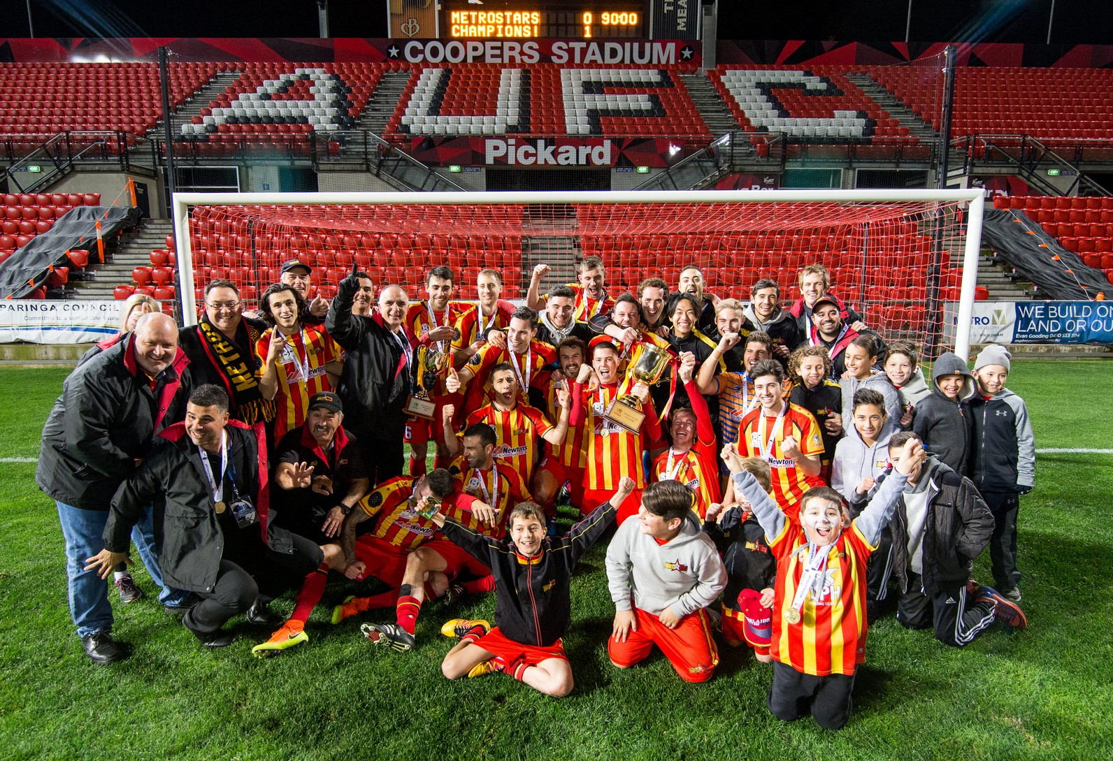2016 Federation Cup Champions