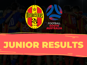 Juniors Results - 30th August 2020