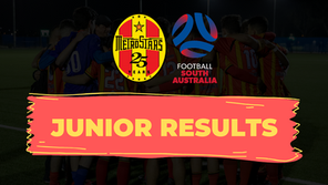 Juniors Results - 13th September 2020