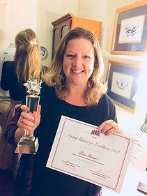Rae Rivers, 2017 Imbali Award winner