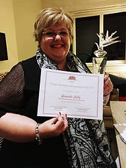 Amanda Holly, Strelitzia Award winner