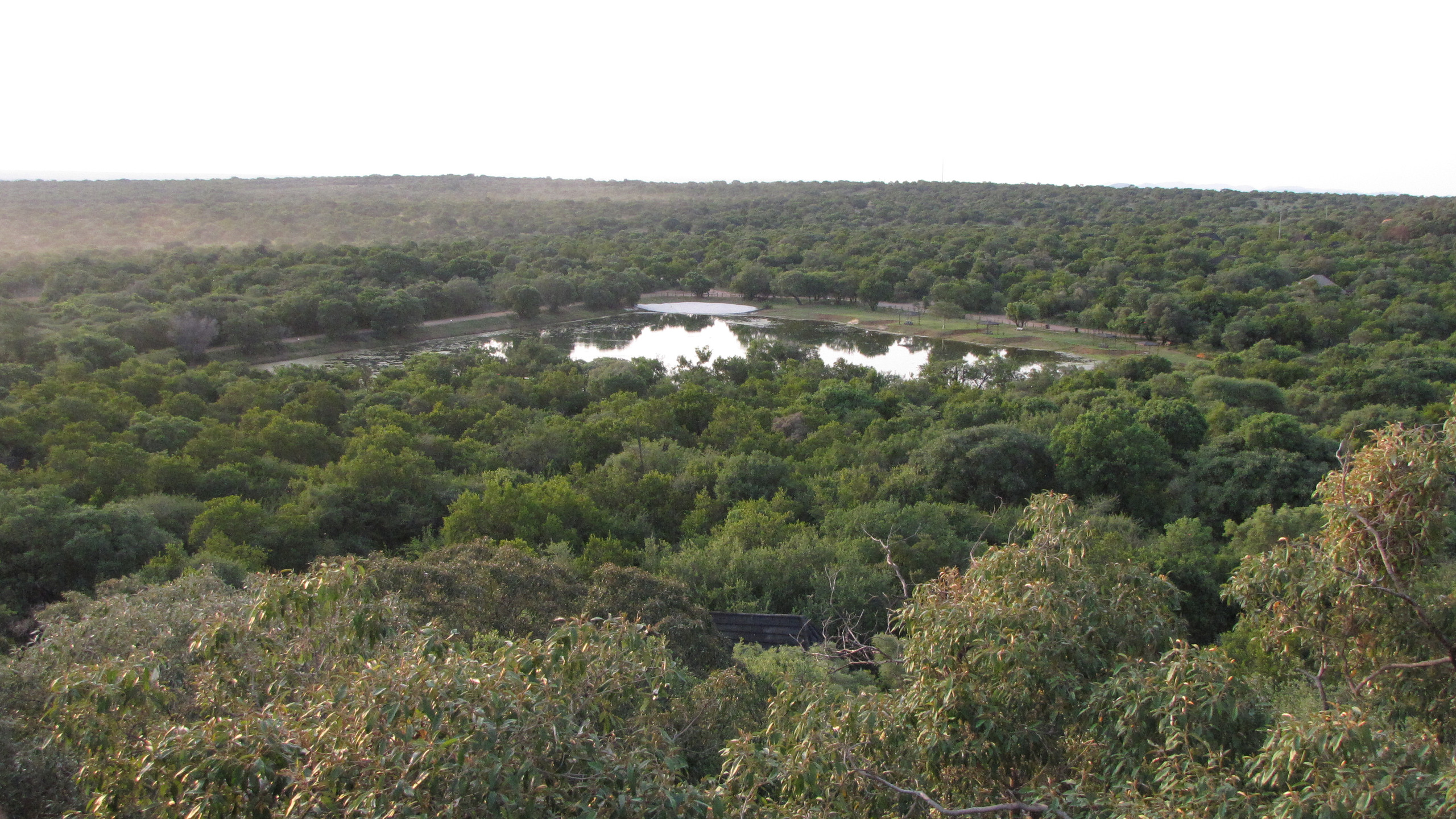 View from lookout point, North West Province