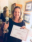 Rae Rivers accepts her Imbali 2017 Award