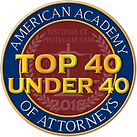 American Academy of Attorneys Top 40 .pn