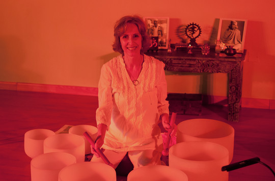 """Sound Healing Journey """"I live within the Light"""""""