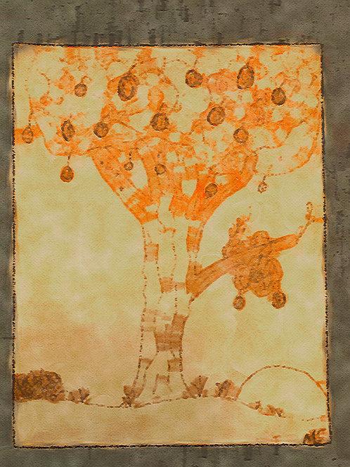 Brown Fruit Tree