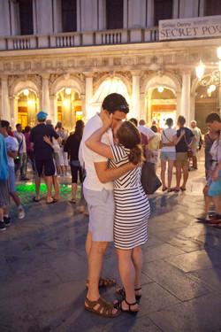 Kiss in Venice,  P. San Marco, 2015