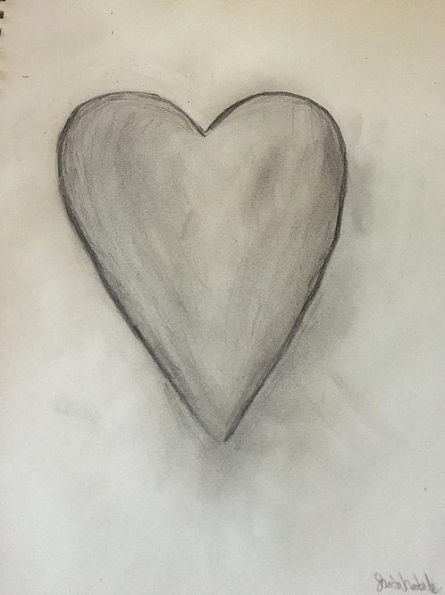 Jaeda's Heart Print