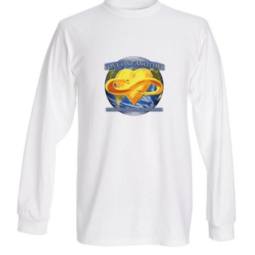 Men's Long Sleeve Love One Another T shirt