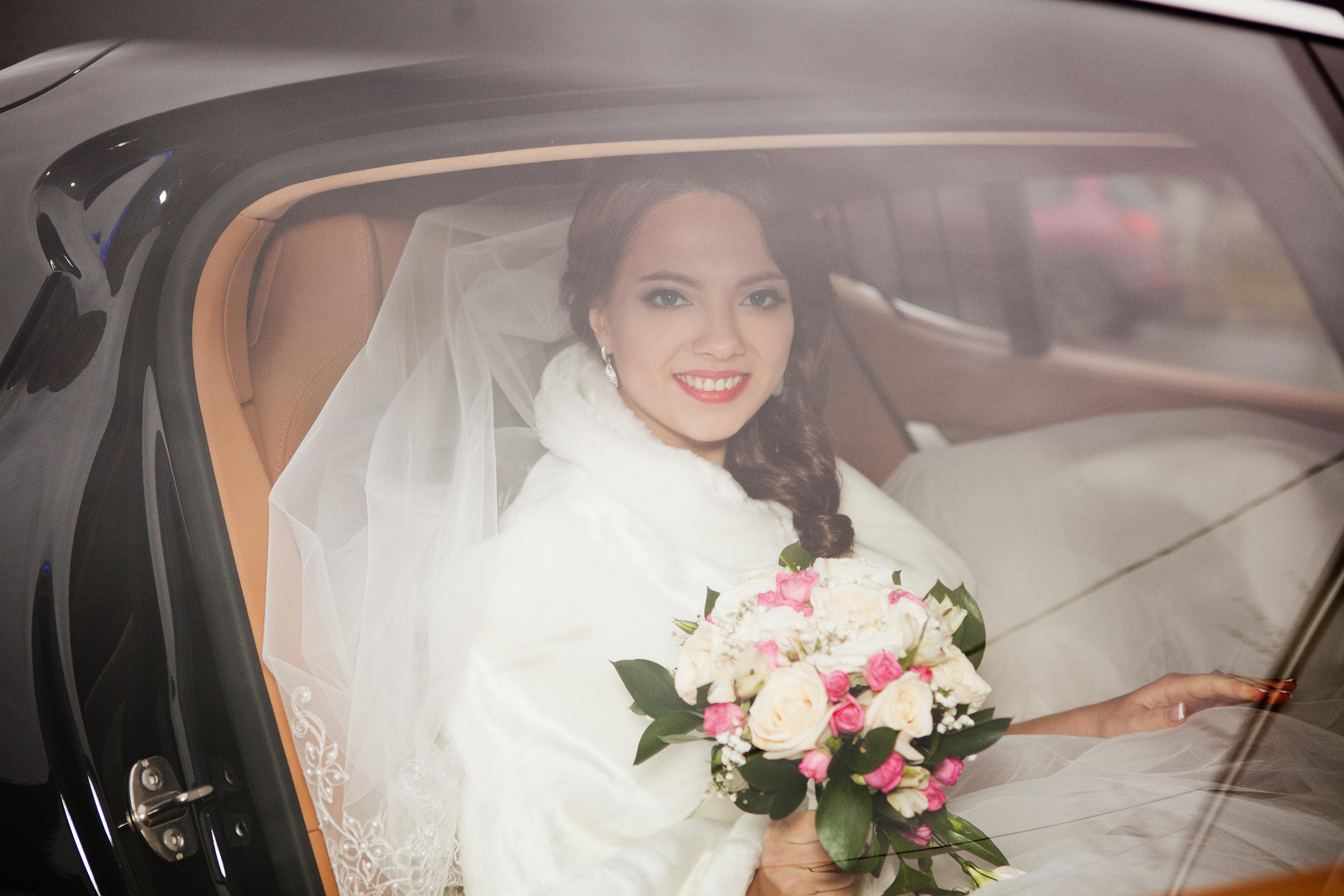 Зимняя свадьба в Одинцово