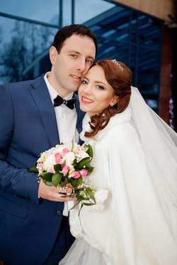 # Зимняя свадьба в Одинцово