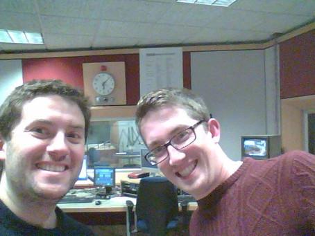 Nick and Jon featured on the radio!