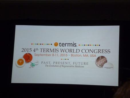 Evans lab does TERMIS 2015