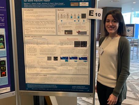 Sara presents latest ultrasound work
