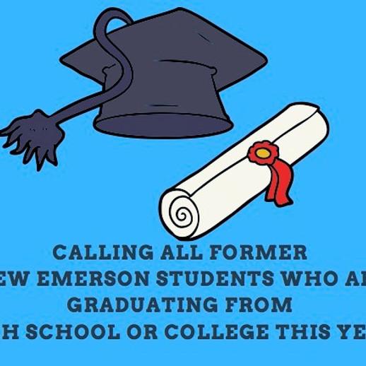 New Emerson Senior Alumni Campus Parade - Monday, May 17th @ 9am