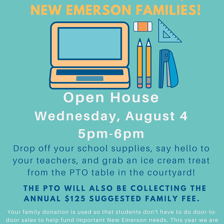 New Emerson Open House