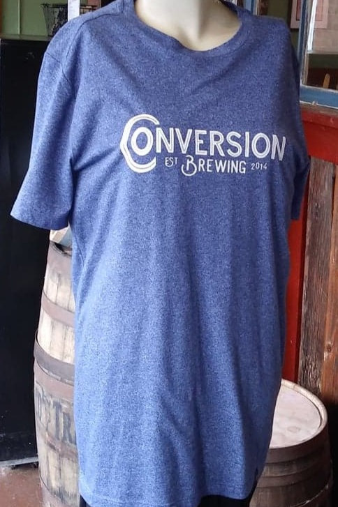 Heather Blue Conversion Brewing  T-Shirt