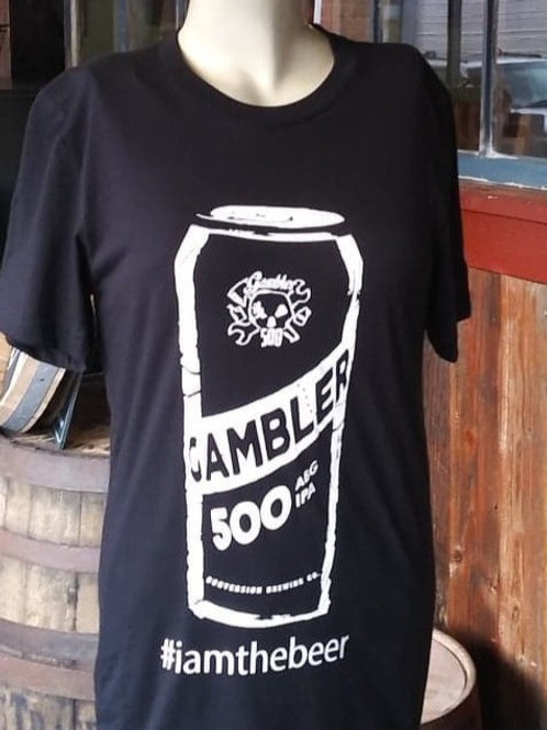 """I Am The Beer"" Gambler 500 T-shirt."