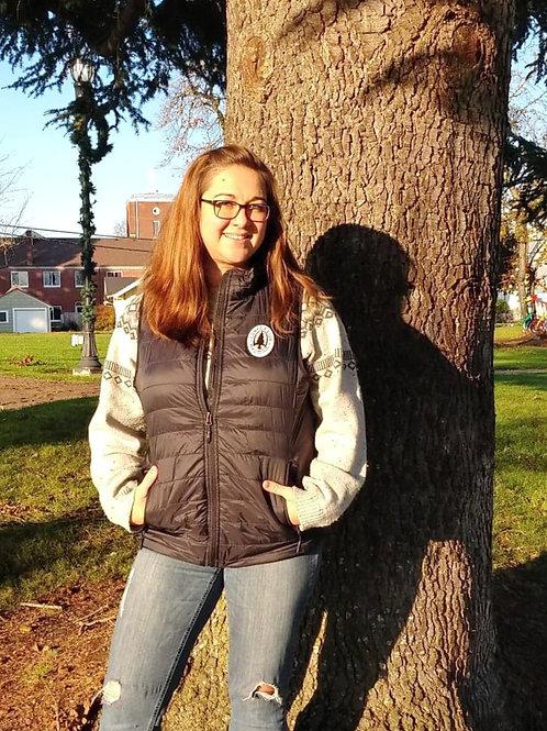 Women's Puffer Vest w/ Tree Logo