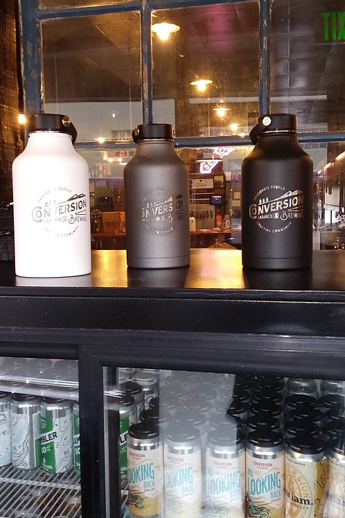 64oz Hydro Flask Stainless Steel Growler
