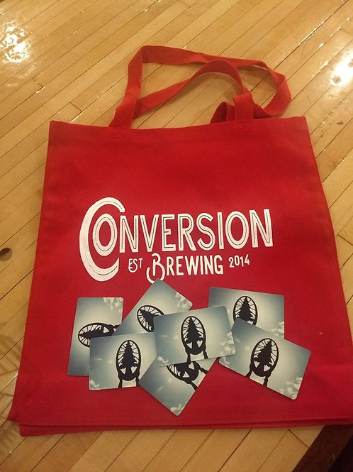 Conversion Brewing Tote Bag