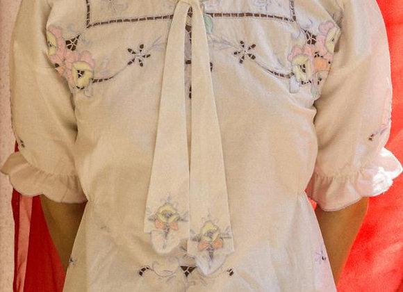 Mariella, upcycled blouse