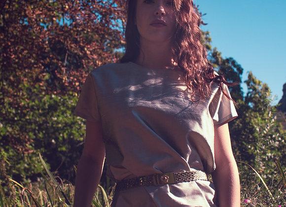 Yves Saint Lauren silk minimalistic dress
