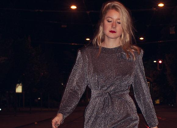 70s disco backless dress
