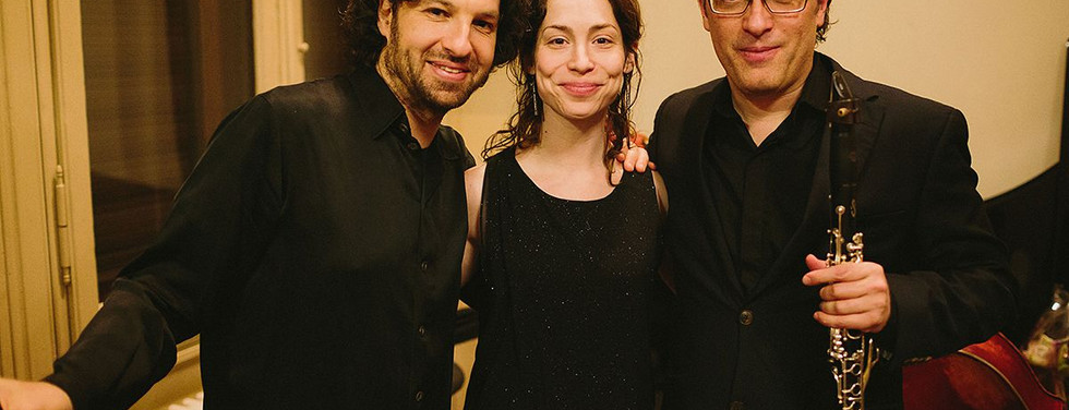 At Mizmorim festival with Michal Lewkowicz and Chen Halevi