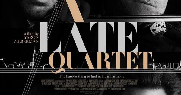"""""""A late quartet"""" film"""