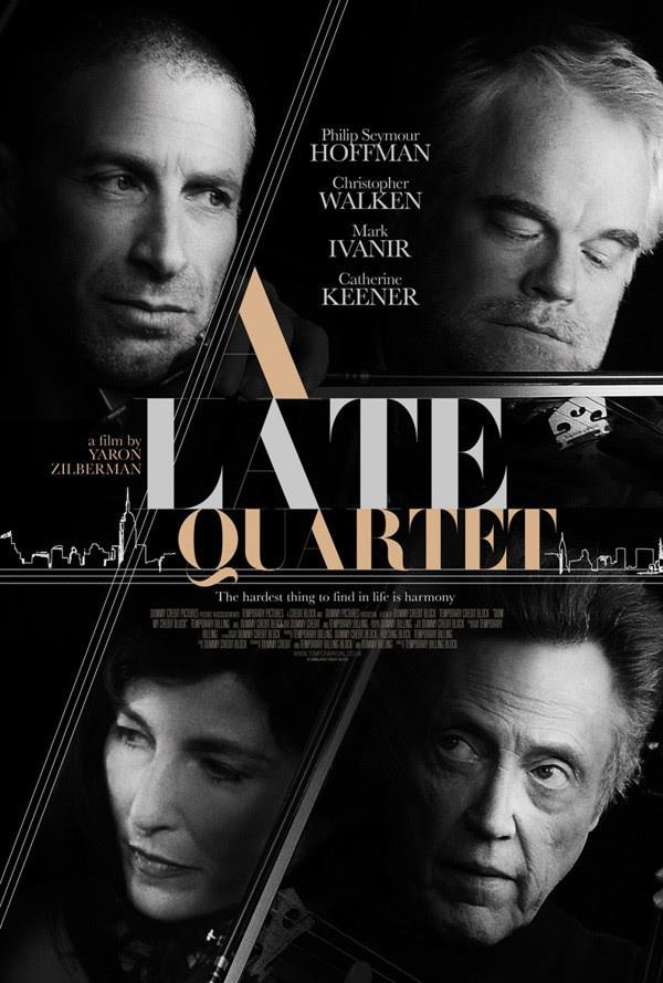 """A late quartet"" film"