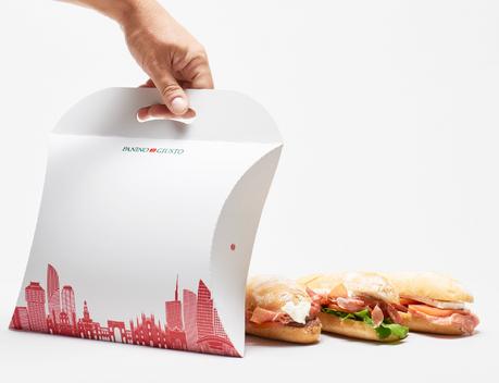 Dekivery 3 panini packaging