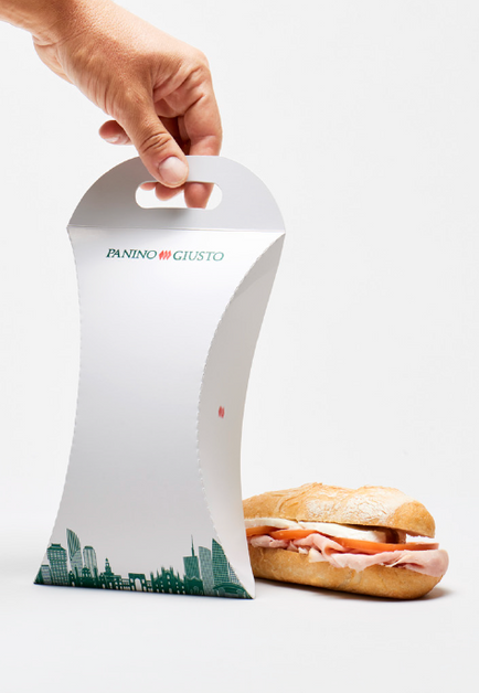 Delivery 1 panino packaging