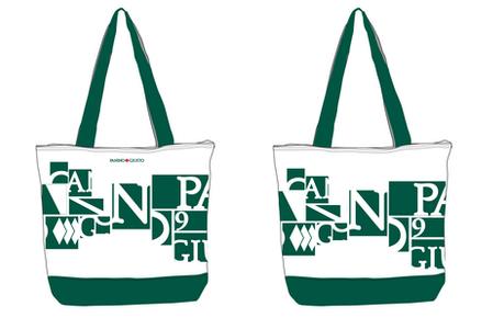 Merchandising canvas bags