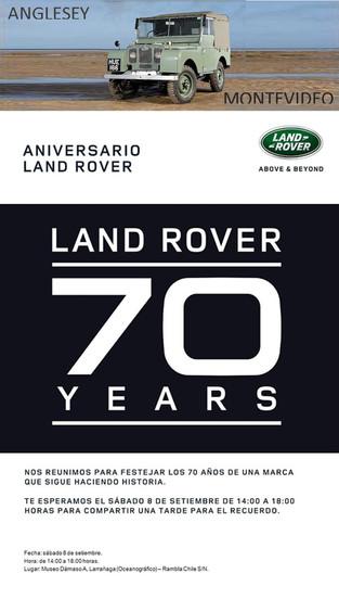 Land Rover - 70 Años - Uruguay