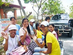 フィリピンの子供たち