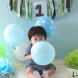 1st birthday Photo Booth