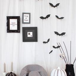 Halloween black&white Photo Booth