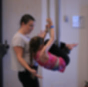 fun performing partner acrobatics in Victoria on Vancouver Island circus parties