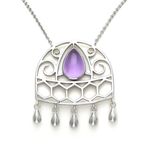 Necklace Union Amethyst by Sophie Rinieri