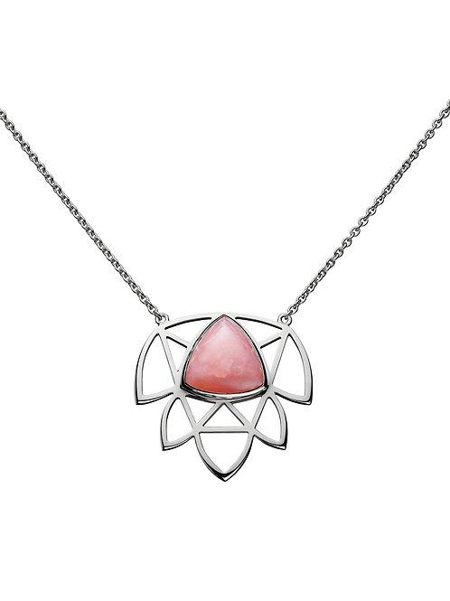 Pendentif Let Go avec Opale rose